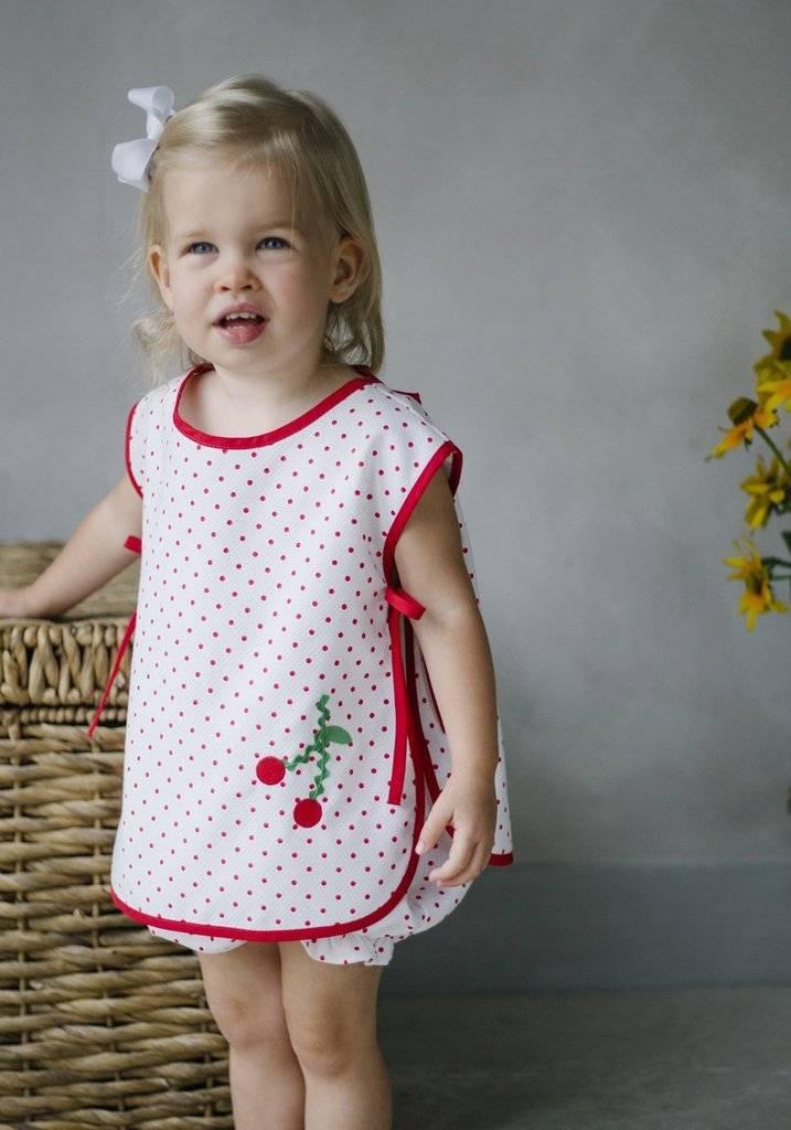 Little English Libby Cherry Bloomer Set