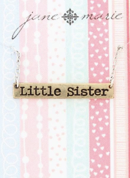 """JANE MARIE Little Sister Necklace (14"""" with 2"""" extender)"""