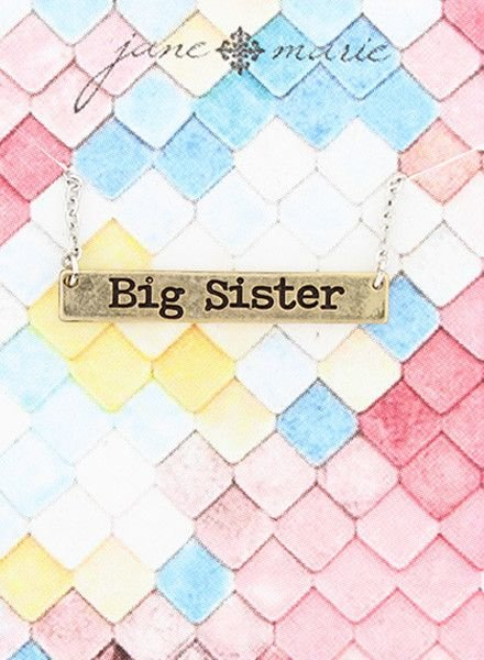 """JANE MARIE Big Sister Necklace (14"""" with 2""""extender)"""