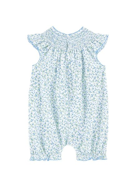 KISSY KISSY Spring Meadow Print Sleeveless Short Playsuit