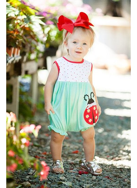Molly & Millie Ladybug Bubble