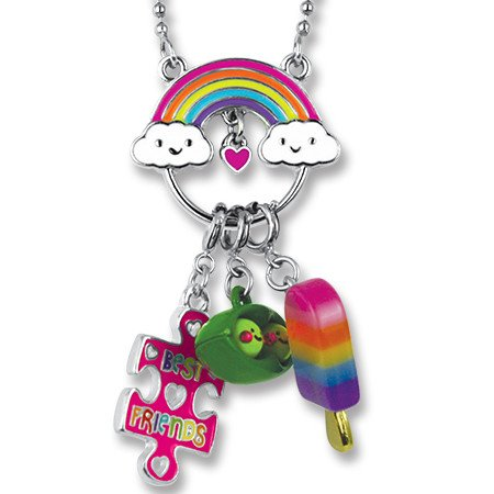 CHARM-IT Rainbow Charm Catcher Necklace