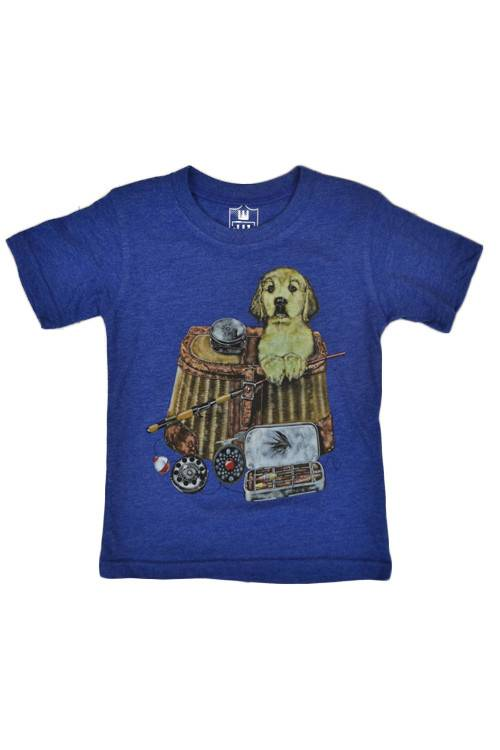 WES & WILLY Fish Pup Short Sleeve Tee