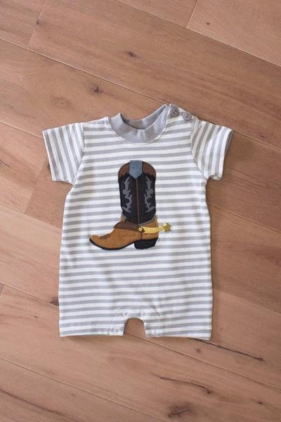 WALLY AND WILLIE Boot Scootin Romper