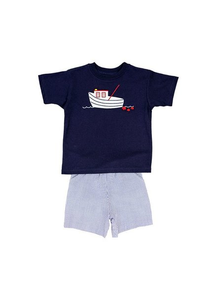 Bailey Boys Shrimp Boat Short Set