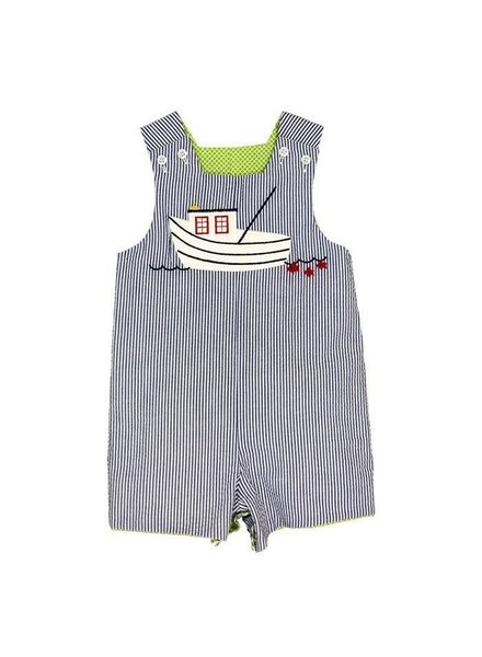 Bailey Boys Shrimp Boat Reversible John John