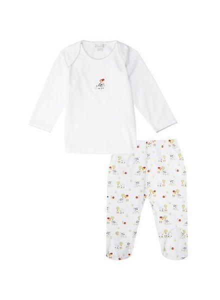 KISSY KISSY Barnyard Bunch Footed Pants Set