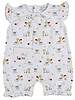 KISSY KISSY Barnyard Bunch Print Sleeveless Short Playsuit