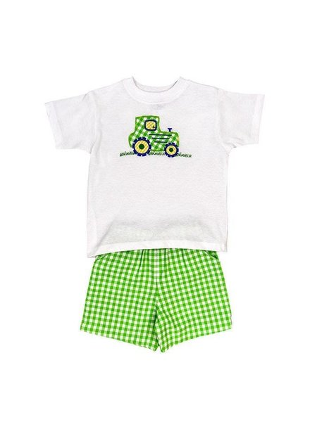 Bailey Boys Tractor Short Set
