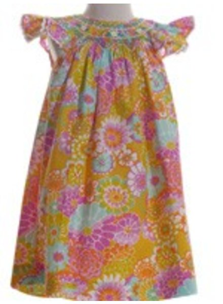 MOM & ME Pearl Smocked Bishop