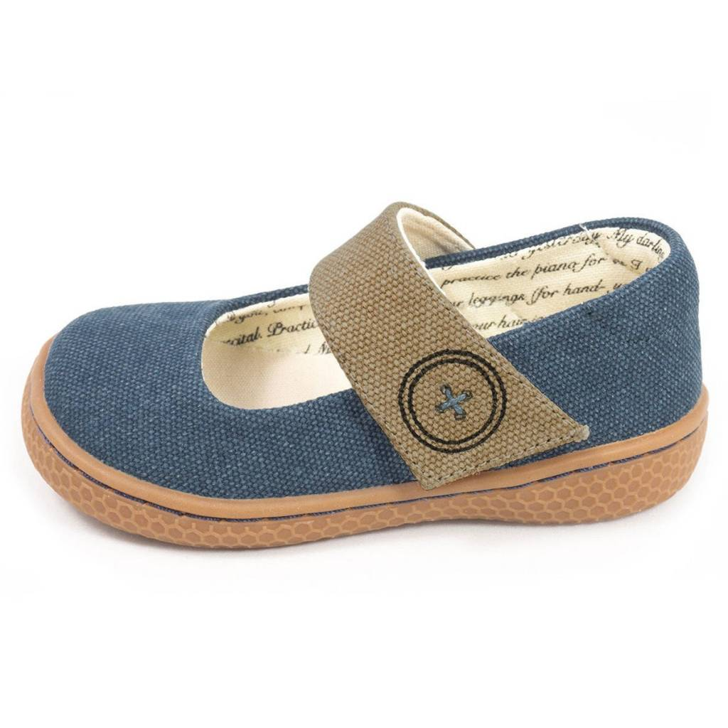 Livie & Luca Carta II Mary Jane Denim Blue