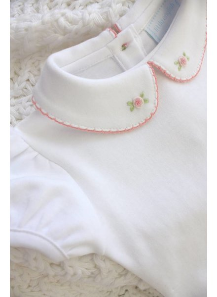 Little English Rose Pinpoint Blouse