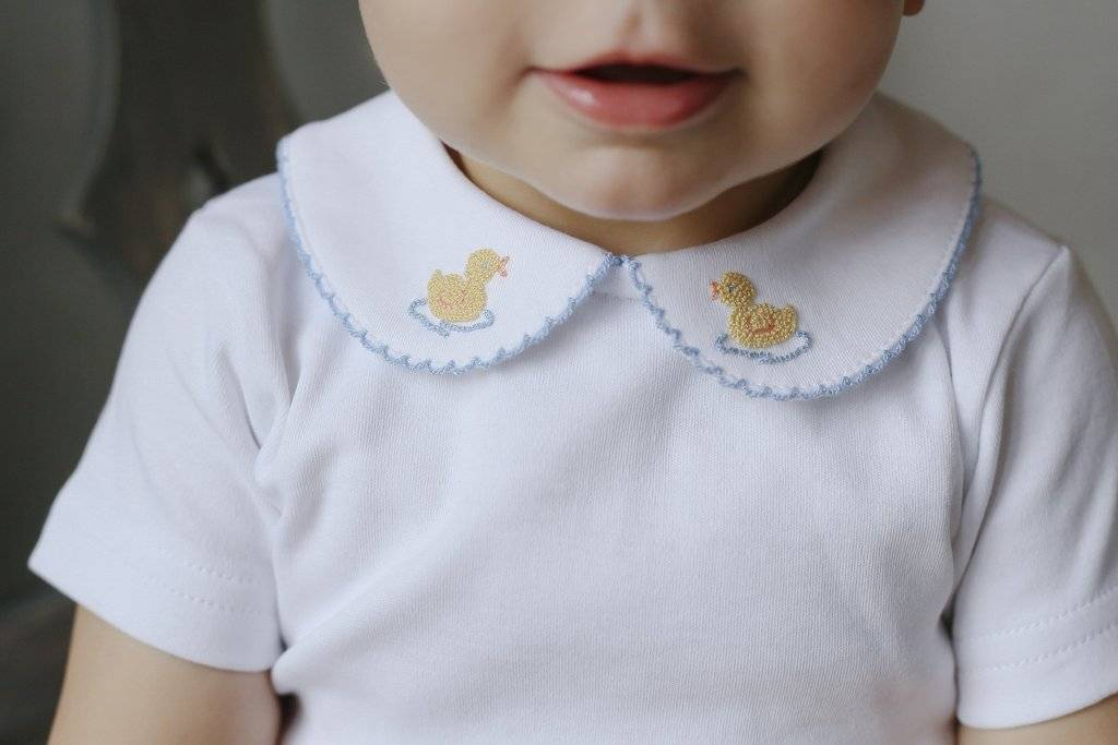 Little English Duck Pinpoint Shirt