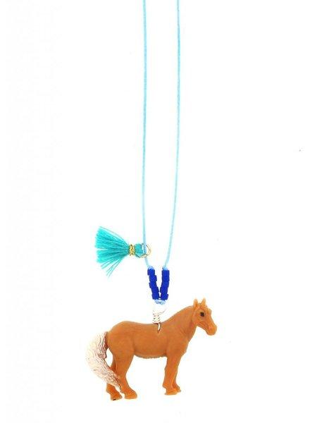 Sadie's Moon Horse Baby Buddy Necklace