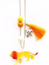 Sadie's Moon Lee The Lion Necklace