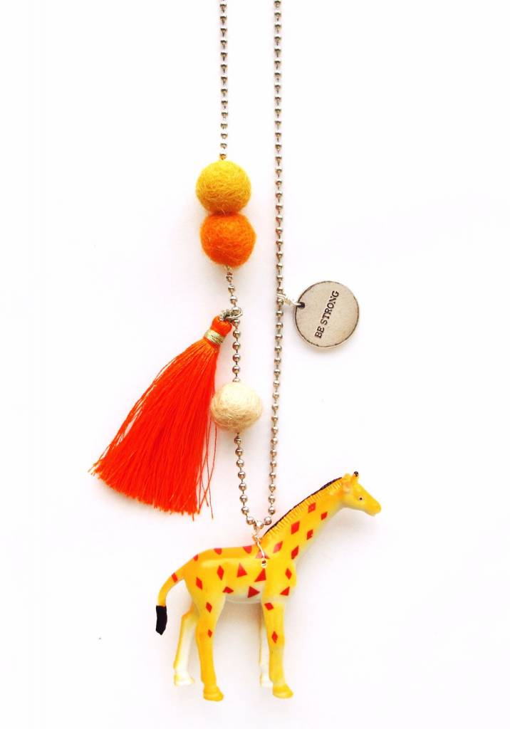 Sadie's Moon Gigi The Giraffe Necklace