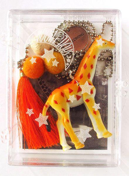 Sadie's Moon Gigi The Giraffe Necklace