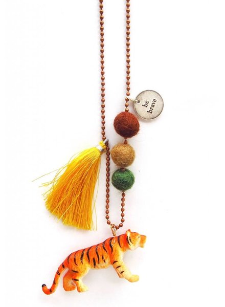 Sadie's Moon Taylor The Tiger Necklace