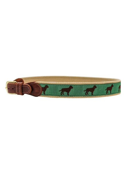 J BAILEY 1010-Buddy-Chocolate Dog Belt
