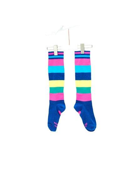 Mim-Pi Rainbow Stripe Tights