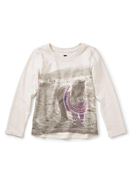 Tea Collection Shetland Sweater Graphic Tee