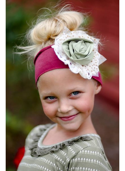 Giggle Moon Precious Ruby Knit Headband