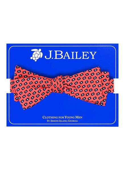 Bailey Boys Coral Square Bow Tie