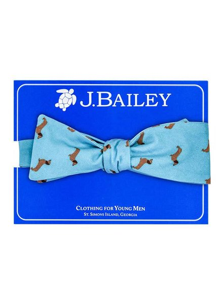 Bailey Boys Ralph on Turquoise Bow Tie