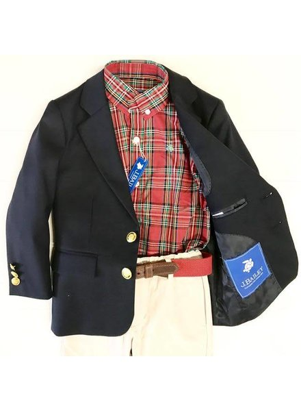 Bailey Boys Navy Blazer
