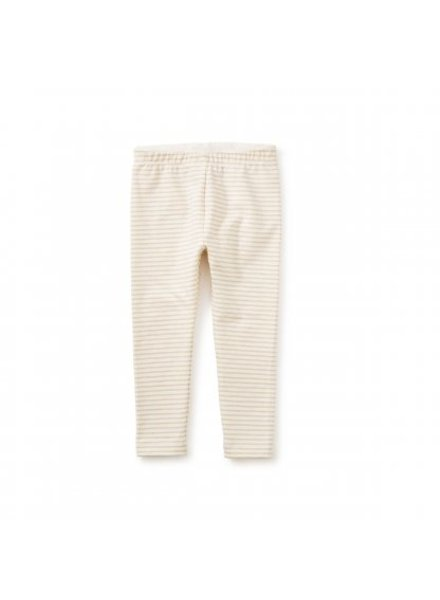 Tea Collection Sparkle Stripe Baby Leggings Chalk (061)