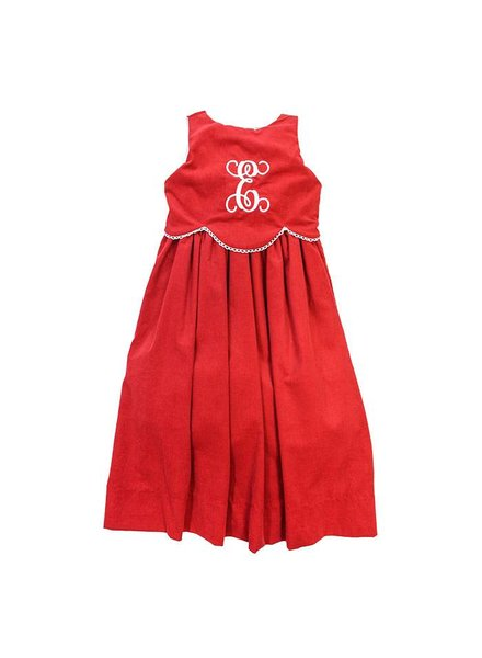 Bailey Boys Red Cord Empire Dress