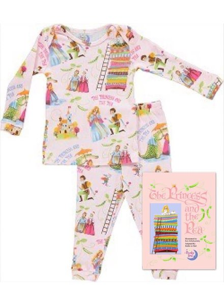 Books to Bed Princess and the Pea Pajama and Book Gift Set