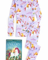 Books to Bed Uni the Unicorn Pajama and Book Set