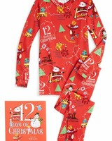Books to Bed 12 Days of Christmas Pajama and Book Set