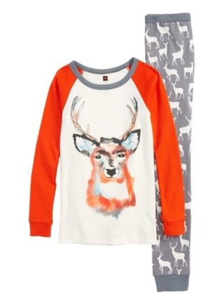 Tea Collection Red Deer Pajamas