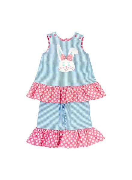 The Bailey Boys, inc Bunny Face Capri Set