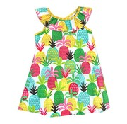 The Bailey Boys, inc Pineapple Print Masters Dress