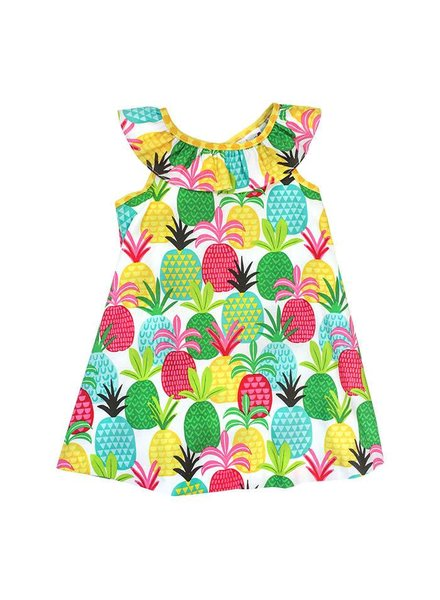 The Bailey Boys, inc Pineapple Print Masters Dress