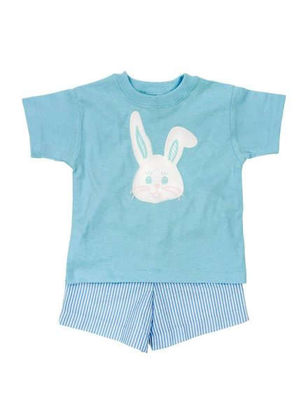 The Bailey Boys, inc Bunny Face Boys Shorts Set