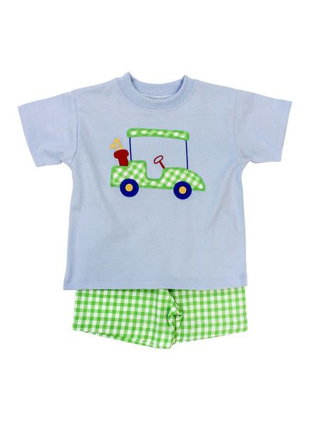 The Bailey Boys, inc Golf Cart Boys Short Set