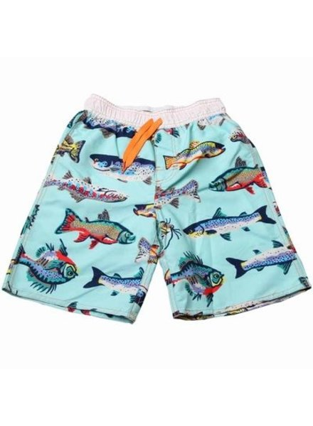 WES & WILLY Freshwater Fish Swim Trunk