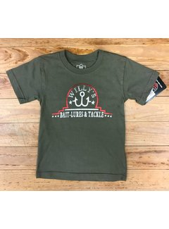 WES & WILLY Bait Lures Short Sleeve Tee