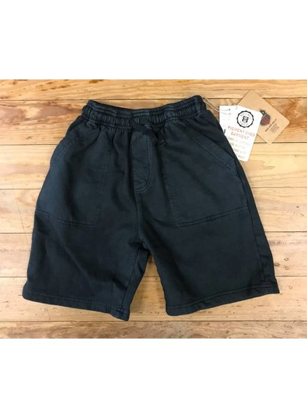 WES & WILLY Pirate Black Pigment Dyed Organic Cotton Short