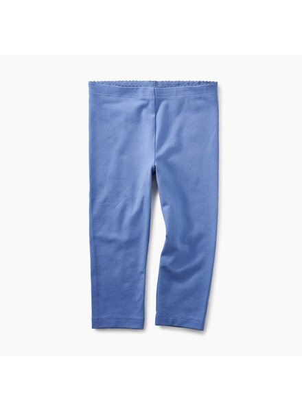 Tea Collection Blue Yarrow Solid Capri Leggings