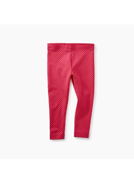 Tea Collection Candy Apple Pin Dot Baby Leggings
