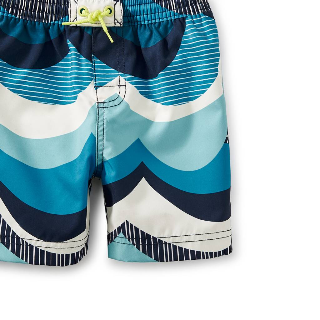 Tea Collection Make Waves Swim Trunks