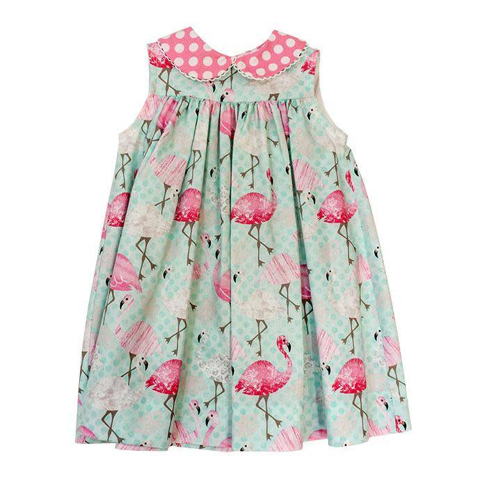 Bailey Boys Flamingo Print Float Dress