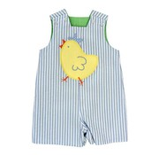 Bailey Boys The Spring Chick Applique Reversible John John