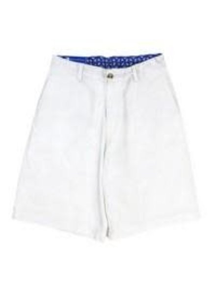 J BAILEY Pete White Twill Short