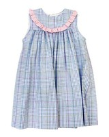 J BAILEY Float Dress in River Plaid